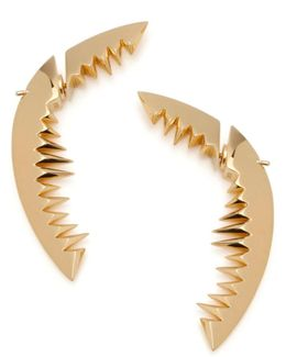 Shark Bay Earrings Gold
