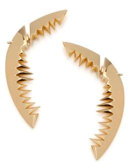 Shark Bay Earrings Gold