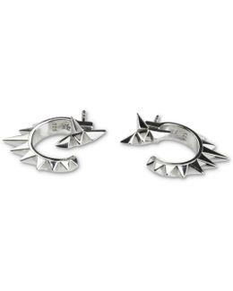 Vortex Silver Earrings