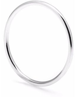 Silver Round Stacking Ring