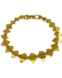 Siren Vertebrae Bracelet Gold