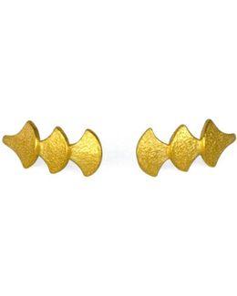 Siren Song Stud Earring Gold