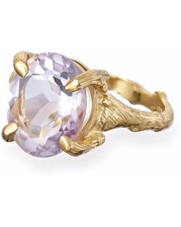 Drop In The Wild In Amethyst & Gold