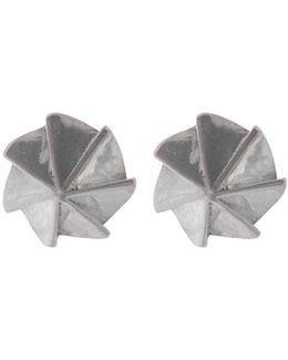 Countersink Earrings Silver