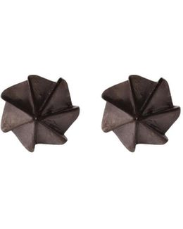 Countersink Earrings Black