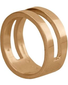 Parallel Ring Gold