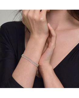 Theda Pharon Skinny Bracelet Silver