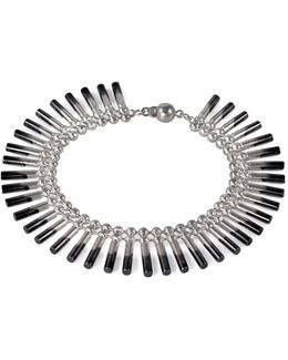 Theda Cleo Interchangeable Bracelet/necklace Silver