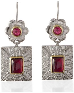 Hayami Ruby Earrings