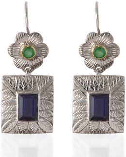 Hayami Emerald Earrings