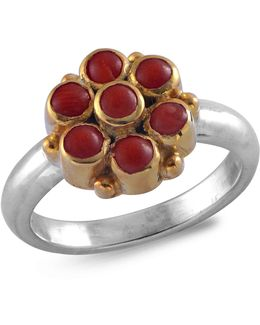 Bellina Coral Ring