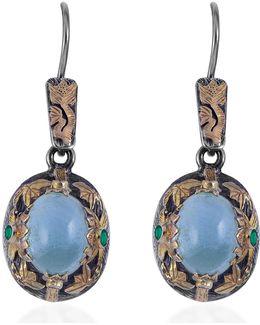 Lia Aquamarine Earrings