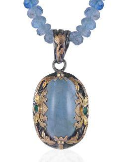 Lia Aquamarine Pendant