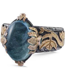 Lia Aquamarine Ring