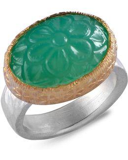 Bodhi Chrysoprase Ring
