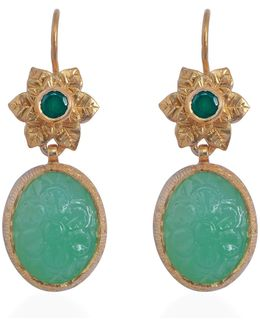 Bodhi Chrysoprase Earrings