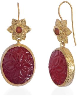 Bodhi Carnelian Earrings