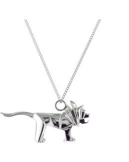 Mini Lion Sterling Silver
