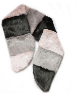 Pic & Mix Scarf Grey & Pink