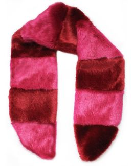 Pick & Mix Scarf Red & Pink