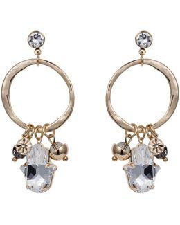 Hamsa Earring Gold