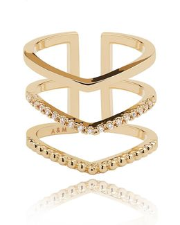 Mystic Ring In Gold