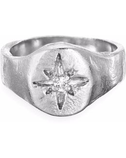Your North Star Ring In Silver