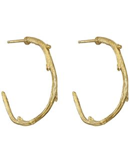 Love Is All You Need Maxi Earrings In Gold