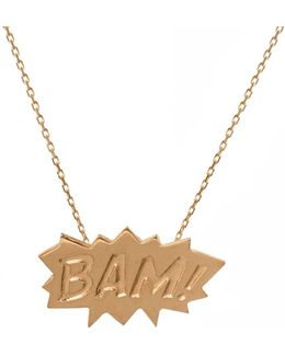 Bam Pendant Medium In Gold