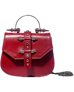 Mini Studded Red