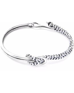 Yellow Noir Padstow Silver & Rope Bracelet