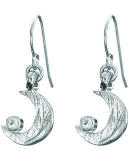 Wish Upon A Star Stud Earrings In Silver