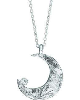 Wish Upon A Star Maxi Necklace In Silver