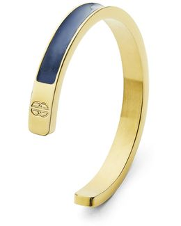 Navy & Gold Solid Cuff