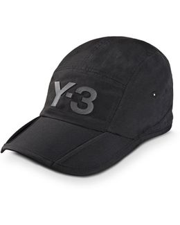 Black Fold Cap
