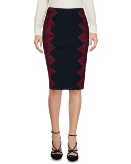 Queeny Scalloped Lace Edge Pencil Skirt