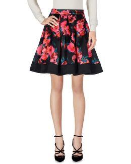 Allegro Poppy Satin Flared Skirt