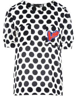 Polka-dot Print T-shirt