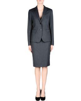 Three-Piece Stretch-Wool Suit