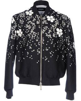 - 'tokyo' Flower Bomber Jacket - Men - Silk/cotton/polyamide/viscose - 52