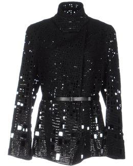 Belted Embroidered Jacket