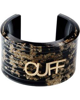 Glittered Acrylic Cuff