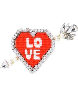 Emojibling Heart Brooch