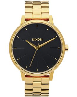 Small Time Teller Gold Finish Watch