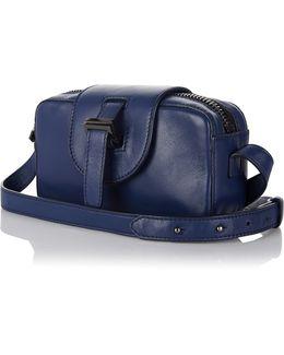 Micro Box Cross Body Bag In Midnight Blue