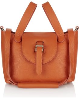 Mini Thela In Marmalade Calf Leather
