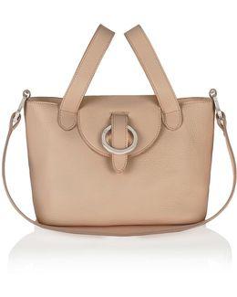 Rose Thela Mini Shoulder Bag In Light Tan