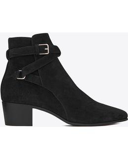 Blake 40 Jodhpur Suede Ankle Boots