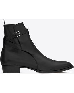 Wyatt 30 Suede Jodhpur Boots