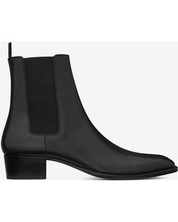 Wyatt Calfskin Chelsea Boots